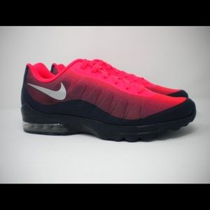 NIKE Air Max Running Shoes SOLAR RED